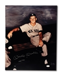 MICKEY MANTLE AUTOGRAPHED LARGE FORMAT (16x20) LIMITED EDITION RAY GALLO PHOTO PRINT