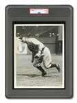 5/25/1920 TY COBB DETROIT TIGERS ORIGINAL WIRE PHOTOGRAPH TAKEN AT POLO GROUNDS AGAINST YANKEES (PSA/DNA TYPE I)