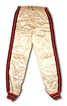 C. LATE 1950S SWEDE HALBROOK OREGON STATE GAME WORN WARM-UP PANTS - FORMERLY THE WORLDS TALLEST BASKETBALL PLAYER AT 7 3""