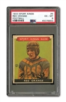 1933 GOUDEY SPORT KINGS #4 RED GRANGE PSA EX-MT 6
