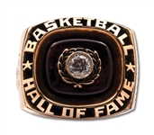 LENNY WILKENS 1989 NAISMITH HALL OF FAME INDUCTION RING ISSUED AS PLAYER (WILKENS LOA)