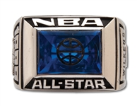 LENNY WILKENS 1989 NBA ALL-STAR GAME RING - HEAD COACH OF EASTERN CONFERENCE (WILKENS LOA)