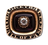 LENNY WILKENS 1998 NAISMITH HALL OF FAME INDUCTION RING ISSUED AS NBA COACH (WILKENS LOA)