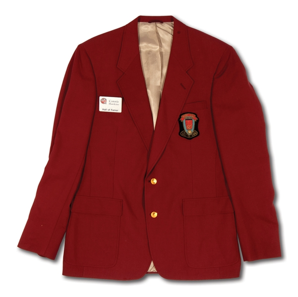CONNIE HAWKINS 1992 NAISMITH BASKETBALL HALL OF FAME INDUCTION JACKET (HAWKINS COLLECTION)