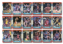 1986-87, 1987-88 AND 1988-89 FLEER BASKETBALL COMPLETE SETS WITH MICHAEL JORDAN ROOKIE (PLUS TWO STICKER SETS)