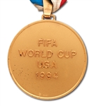 1994 FIFA WORLD CUP WINNERS GOLD MEDAL AWARDED TO BRAZIL NATIONAL TEAM MEMBER (TECHNICAL COORDINATOR LOA)