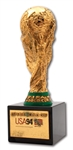 1994 FIFA WORLD CUP WINNERS BERTONI TROPHY AWARDED TO BRAZIL NATIONAL TEAM MEMBER (TECHNICAL COORDINATOR LOA)