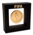 "2018 FIFA WORLD CUP (RUSSIA) ""PARTICIPANT FINAL COMPETITION"" MEDAL GIVEN TO BRAZIL NATIONAL TEAM MEMBER"