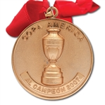 2007 COPA AMERICA WINNERS GOLD MEDAL AWARDED TO BRAZIL NATIONAL TEAM MEMBER (TECHNICAL COORDINATOR LOA)