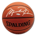 MICHAEL JORDAN AUTOGRAPHED OFFICIAL SPALDING NBA BASKETBALL (UDA COA)
