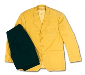 2000 SYDNEY SUMMER OLYMPICS TEAM BRAZIL OPENING CEREMONIES JACKET AND PANTS WORN BY BRAZIL NATIONAL TEAM (CBF) MEMBER
