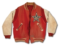 1954 LEONARD LINDBORG HOLLYWOOD STARS (PCL) WORN TEAM JACKET (LINDBORG LOA)