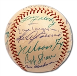 HIGH-GRADE 1959 CHICAGO WHITE SOX A.L. CHAMPIONS TEAM SIGNED BASEBALL
