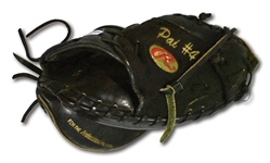 2011 YADIER MOLINA GAME USED RAWLINGS CATCHERS MITT FROM WORLD SERIES WINNING SEASON (MLB PLAYER PROVENANCE, PSA/DNA LOA)
