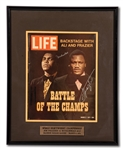 "MUHAMMAD ALI AND JOE FRAZIER DUAL-SIGNED 3/5/1971 LIFE MAGAZINE (""FIGHT OF THE CENTURY"" ISSUE)"