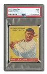1933 GOUDEY BABE RUTH #53 PSA PR 1 (FRED FRANKHOUSE COLLECTION)