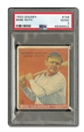 1933 GOUDEY BABE RUTH #149 PSA GD 2 (FRED FRANKHOUSE COLLECTION)