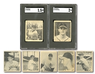 1948 BOWMAN BASEBALL COMPLETE SET OF (48) WITH SGC GRADED MUSIAL & BERRA ROOKIES