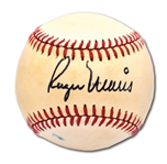 ROGER MARIS SINGLE SIGNED OFFICIAL 1980 ALL-STAR GAME (KUHN) BASEBALL WITH HIGH-GRADE AUTO.