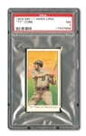 1909-11 E90-1 AMERICAN CARAMEL TY COBB PSA NM 7 - POP 1, ONLY TWO GRADED HIGHER!