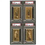 1911 ZEE-NUT E136 (PCL) NEAR SET (103/122) WITH PSA GRADED BUCK WEAVER PLUS 8 DUPLICATES - 111 TOTAL CARDS (YAHTZEE BOX FIND)