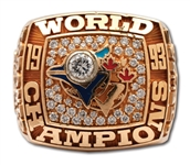 DAVE STEWARTS 1993 TORONTO BLUE JAYS WORLD SERIES CHAMPIONS 14K GOLD RING - ALCS MVP! (STEWART COLLECTION)