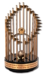 DAVE STEWARTS 1989 OAKLAND ATHLETICS WORLD SERIES CHAMPIONS FULL-SIZE TROPHY PRESENTED TO W.S. MVP - ONLY PLAYER TO GET ONE! (STEWART COLLECTION)