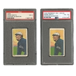 PAIR OF 1909-11 T206 FRANK SMITH (CHICAGO & BOSTON) CARDS - PIEDMONT PSA VG-EX 4 AND POLAR BEAR PSA VG 3