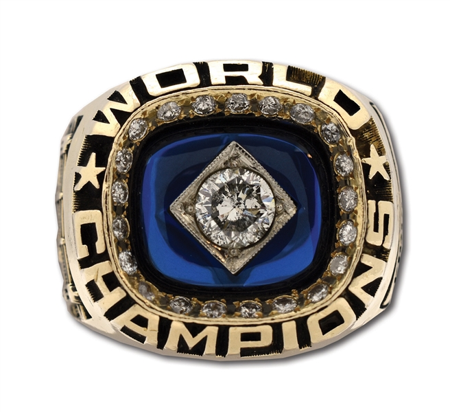 ED FIGUEROAS 1978 NEW YORK YANKEES WORLD SERIES CHAMPIONS 14K GOLD RING (FIGUEROA LOA)