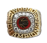 1994 HOUSTON ROCKETS NBA WORLD CHAMPIONS 14K GOLD RING PRESENTED TO CENTER ERIC RILEY