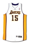 2011-12 METTA WORLD PEACE LOS ANGELES LAKERS GAME WORN SUNDAY WHITES JERSEY