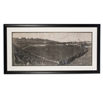 "5/20/1905 NEW YORK GIANTS VS. PITTSBURGH PIRATES (POLO GROUNDS) ENORMOUS PANORAMIC PHOTOGRAPH (46"" x 19"") BY GEORGE LAWRENCE"
