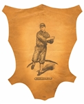 1912 HELMAR L1 LEATHER PREMIUM #132 ED WALSH (HIGH-GRADE)