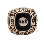 CARL HUBBELLS 1947 NATIONAL BASEBALL HALL OF FAME 10K GOLD INDUCTION RING (HUBBELL FAMILY LOA)