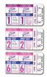 1962 WORLD SERIES TRIO OF N.Y. YANKEES AT S.F. GIANTS (CANDLESTICK PARK) TICKETS STUBS FROM GAMES ONE, TWO & SIX