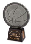 RON BOONES 1997 ABA 30 MAN ALL-TIME TEAM AWARD (BOONE LOA)