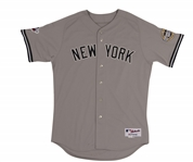 2009 DEREK JETER AUTOGRAPHED NEW YORK YANKEES ALL-STAR GAME WORN JERSEY FROM HIS FINAL CHAMPIONSHIP SEASON (RGU PHOTO-MATCHED, MEARS A10)
