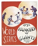 1937, 1938 AND (2) 1941 NEW YORK YANKEES WORLD SERIES PROGRAMS (4 TOTAL)