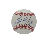 WALTER PAYTON SINGLE SIGNED ONL (WHITE) BASEBALL
