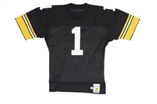 C. 1989-90 GARY ANDERSON PITTSBURGH STEELERS GAME WORN JERSEY (TAGGED 1988) - TEAMS ALL-TIME LEADING SCORER (STEELERS COA)