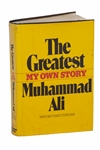 "MUHAMMAD ALI AUTOGRAPHED 1975 ""THE GREATEST - MY OWN STORY"" 1ST EDITION HARDCOVER BOOK BY ALI & RICHARD DURHAM"