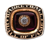 "LENNY WILKENS 2010 NAISMITH HALL OF FAME INDUCTION RING AS MEMBER OF 1992 OLYMPIC ""DREAM TEAM"" - ONLY PLAYER/COACH VERSION EVER OFFERED! (WILKENS LOA)"