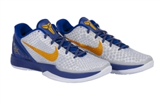 KOBE BRYANT DUAL-SIGNED PAIR OF NIKE KOBE ZOOM VI SHOES - LIMITED EDITION #1/8 (PANINI COA)