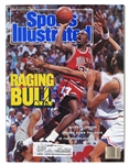 "MICHAEL JORDAN AUTOGRAPHED 5/15/1989 SPORTS ILLUSTRATED MAGAZINE (""RAGING BULL"")"
