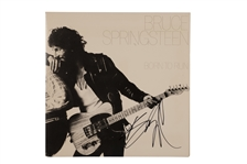 "BRUCE SPRINGSTEEN AUTOGRAPHED FIRST PRESS 1975 ""BORN TO RUN"" ALBUM COVER WITH VINYL RECORD INCLUDED"