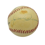 JESSE OWENS AND MRS. CLAIRE RUTH MULTI-SIGNED BASEBALL