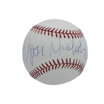 JACK NICHOLSON SINGLE SIGNED OML (SELIG) BASEBALL