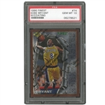 1996 TOPPS FINEST #74 KOBE BRYANT (WITH COATING) ROOKIE - PSA GEM MINT 10