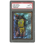 1996 TOPPS FINEST #74 KOBE BRYANT REFRACTOR ROOKIE - PSA MINT 9