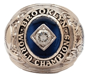 GIL HODGES 1955 BROOKLYN DODGERS WORLD SERIES CHAMPIONS 14K GOLD RING